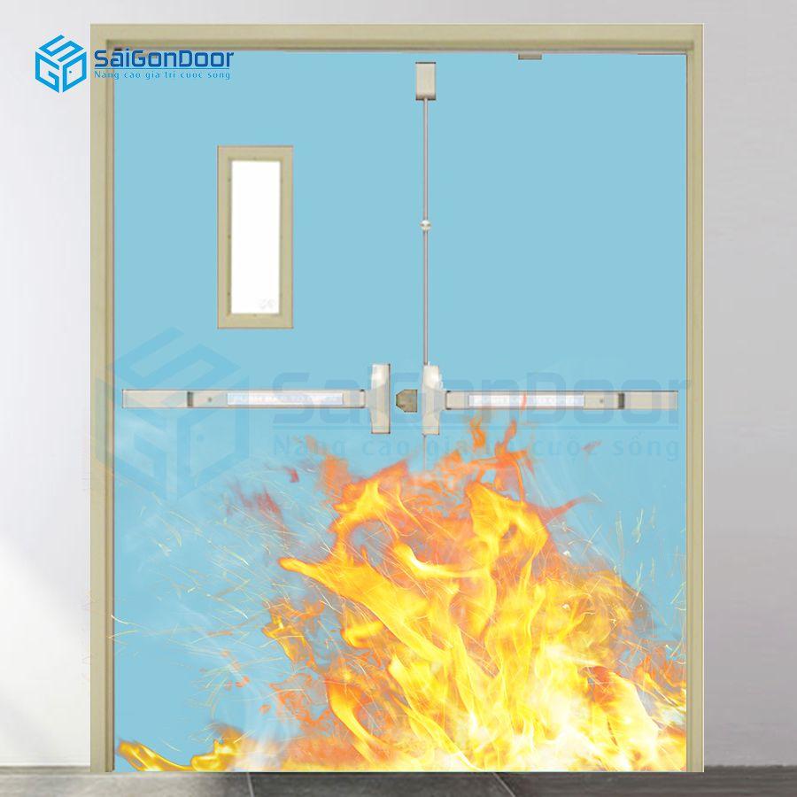 Cửa nhà kho chống cháy TCC.P3G2-C7