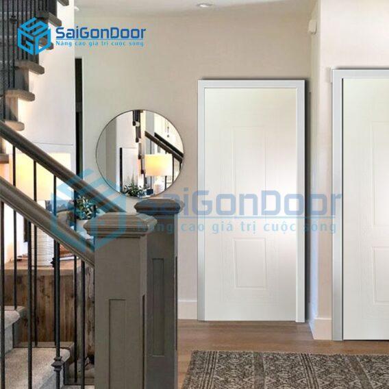 Cửa nhựa gỗ cao cấp chống nước SYA.348-A05
