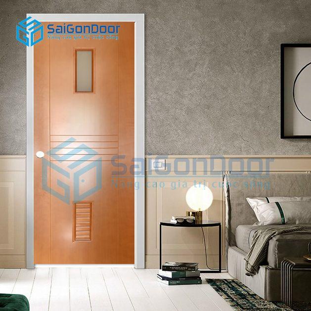 Cửa nhựa gỗ cách ấm cao cấp SYA.356-A02