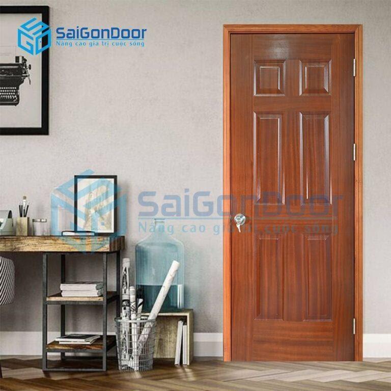 SaiGonDoor chuyên thi công cửa gỗ thông phòng QUẬN 6 HCM