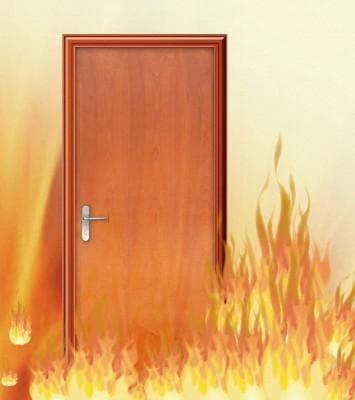 Bản Vẽ Cấu Tạo Cửa Gỗ Chống Cháy