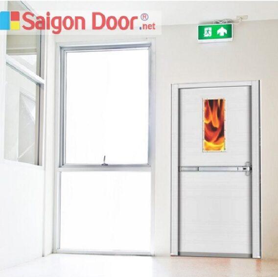 Cấu tạo cửa chống cháy và nguyên lý hoạt động